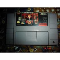 Super Nintendo Judge Dredd El Juez