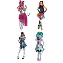 Disfraz Monster High Frankie Skelita Draculaura Loba Cleo