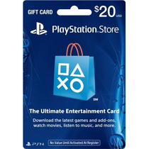 Tarjeta Playstation Store Psn Card Gift Card Ps4 Ps3 Psvita
