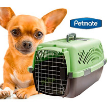 Transportadora Pet Taxi Mediana Petmate Perro Gato Viaje