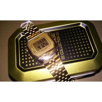 Reloj Casio Dama La680 Dorado Edicion Retro Vintage Caja