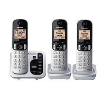 Telefono Inalambrico Panasonic Triple Dect 6.0 Tg433 Altavoz