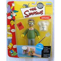 Figura Nueva Ned Flanders Los Simpsons Playmates Serie 2