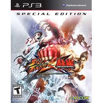 Street Fighter X Tekken Special Edition Ps3 Nuevo Citygame