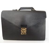 Portafolio Louis Vuitton Ep1 Auténtico De Piel