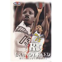 1999 Hoops Wnba Fp Rookie Brandy Reed Minn Lynx