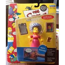 Figura Nueva Patty Bouvier Los Simpsons Playmates Serie 4