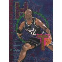 1995-96 Hoops Hot List Jamal Mashburn Mavs