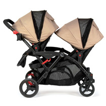Carreola Bebe Gemelo Doble Contours Options Tandem Ruby Hm4