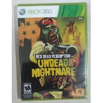 Red Dead Redemption Undead Nightmare Semi Nuevo Xbox 360