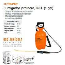 Fumigador Aspersor De Uso En Jardineria 3.8lt