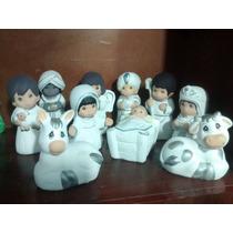 Nacimiento Navideño Caja Con 12 Juegos De 10 Piezas Cada Uno