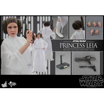 Hot Toys Star Wars Princesa Leia Nuevo 1/6 En Mano