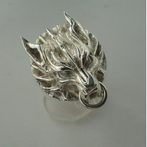Anillo Plata Final Fantasy 7 Lobo Cloud Metallicraft Hm4