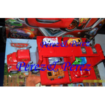 Trailer Cars Mack + Rayo, Mate, (6 Carritos)