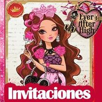 Invitaciones Ever After High Kit Imprimible