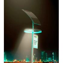 Lamparas Solares Alumbrado Público 40 Watts Poste Incluido