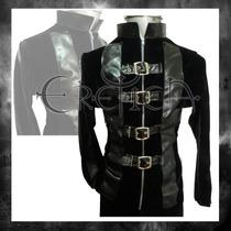 Camisa Terciopelo Eretica Ropa Dark,gotico,metalero.hombre 6