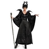 Disfraz Malefica Pelicula Traje Original Disney Bruja