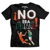 No Era Penal! Playera 100% Original Mascara De Latex