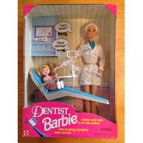 Barbie Dentista Con Niña Y Accesorios Dice Frases En Inglés