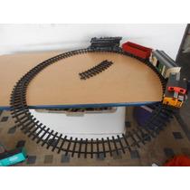 Tren Electrico Locomotora Caboose Bagones Vias #835