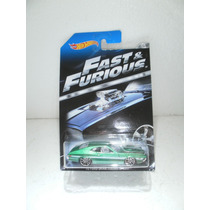 Hot Wheels Fast & Furious 72 Ford Gran Torino Sport Verde5/8