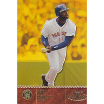 2001 Topps Gold Label Gold Carl Everett Red Sox /999