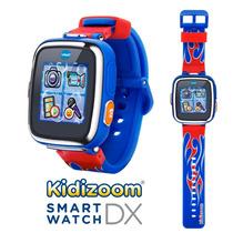 Reloj Vtech Kidizoom Smartwatch Dx Juegos Flama Roja - Azul