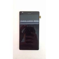 Lcd Y Touch Celular Nokia Lumia 1520 Con Marco
