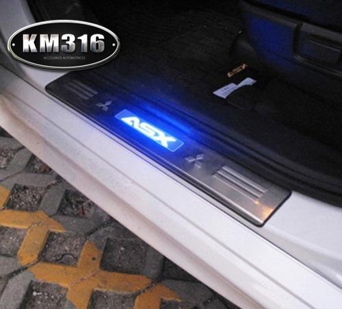 Embellecedores de estribos luz led mitsubishi asx 999 - Embellecedores de luz ...