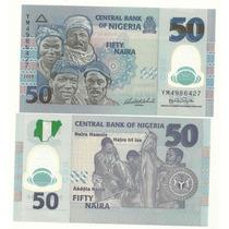 Billete Plastico Nigeria 50 Naira (2009) Pescadores