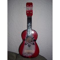Guitarra De Madera Infantil De Juguete