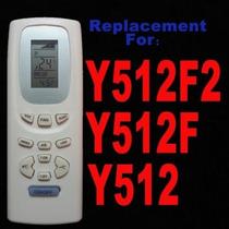 Control Remoto Gree York Lennox Tosot Y512f2 Y512f Y512 Y512