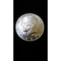 Half Dollar Kennedy Con Ceca D 1985 Moneda