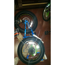 Bicicleta Mongoose Fat Llanta Ancha Rin 20 Azul
