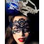 Antifaz Blanco Disfraz Mascara Carnaval Ojos Cara Halloween