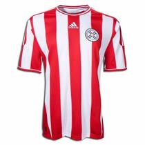 Jersey Selección Paraguay Local 2011-13 Adidas Copa América