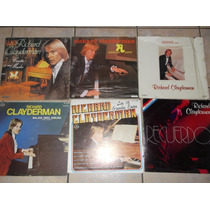 Richard Clayderman Lote Lp Vinilo Acetato