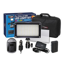 Vidpro Varicolor Led-144 Kit Luz Led Para Video Y Fotografia
