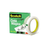 Cinta Adhesiva Cinta Magica Papel Sin Marcas Caja Scotch 3m