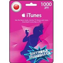 Tarjeta Gift Card Itunes Japon ¥1000 Para Iphone Ipad Ipod
