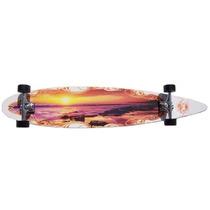 Tb Krown Sunset City Surf Longboard Skateboard
