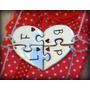 Dijes Corazon Rompecabezas 4 Piezas Personalizado Plata Fina