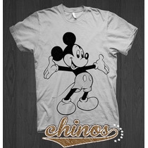 Playera De Mickey Mouse, Minie , Mimi, Dama, Caballero, Niño