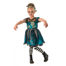 Monster High Traje - Frankie Stein Girls Xlarge Fantasía