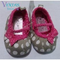 Zapatos Bebe Niña Bolitas Princesa Zapatitos