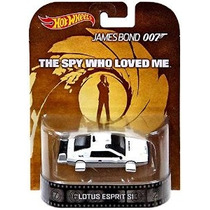 Ruedas Calientes De James Bond 007 Lotus Esprit S1 Coche Bar