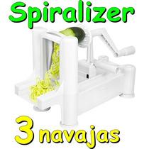 Spiralizer Rallador Verdura Espiral Fruta Vegetales Pasta
