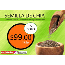 Semilla De Chia 1 Kilo Enviamos A Todo Mexico